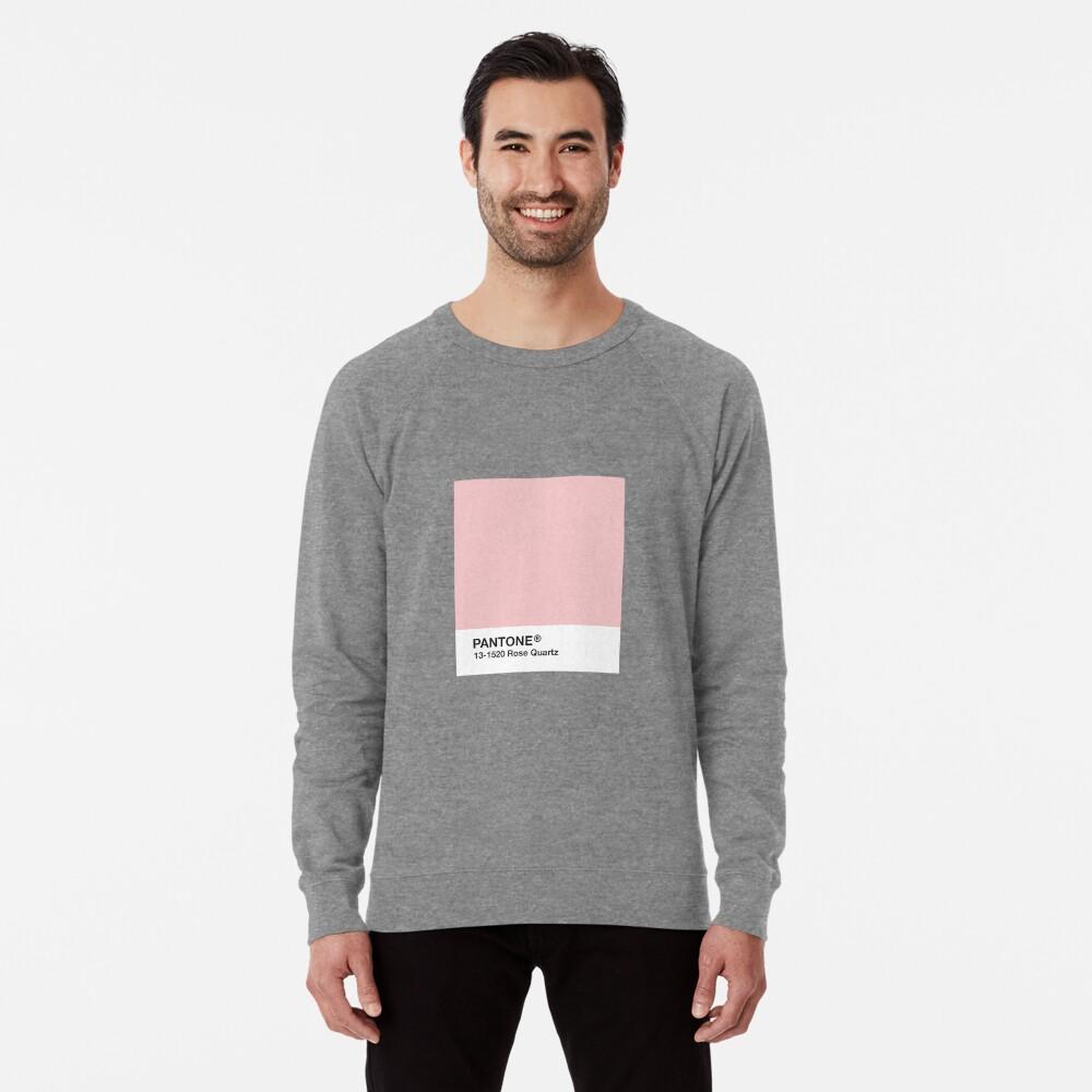 Serie Pantone y Tumblr Vibes - Rose Quartz AKA Millennial Pink Sudadera ligera