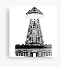 Wardenclyffe Tower Metal Print