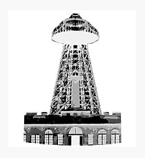 Wardenclyffe Tower Photographic Print