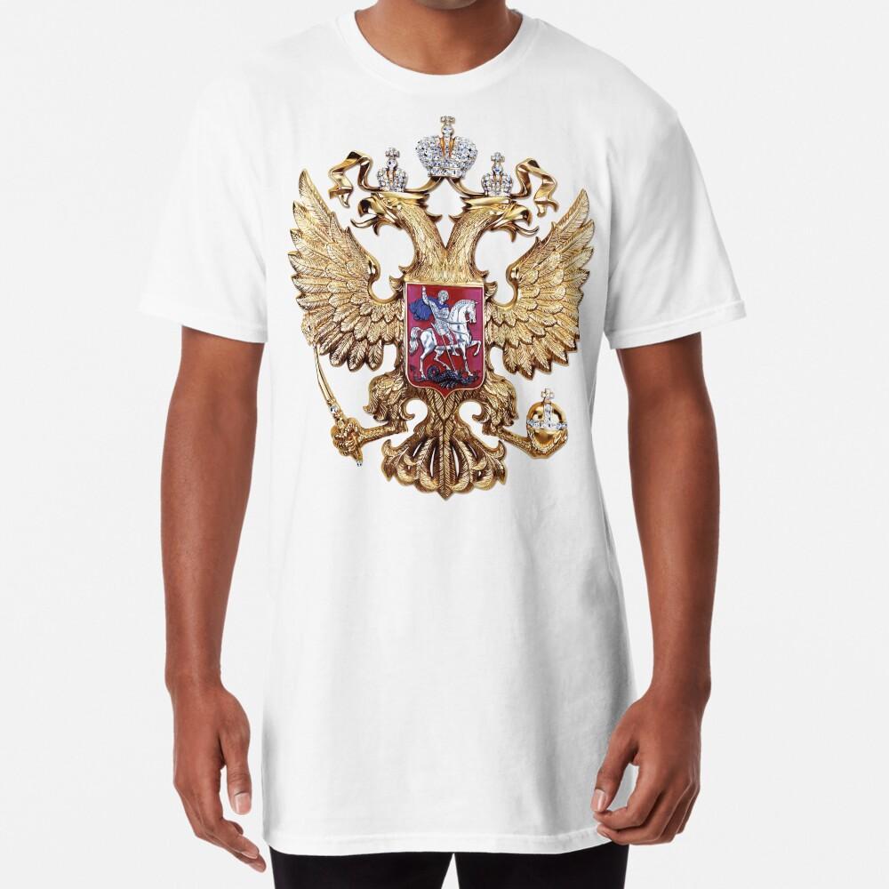 Russian Coat of Arms   Russia 2018 Long T-Shirt