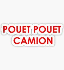 POUET POUET CAMION  Sticker
