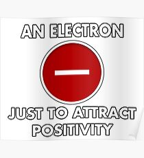 Attract Positivity Poster