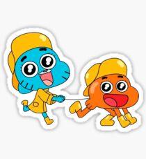 Gumball & Darwin Sticker