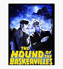Sherlock Holmes The Hound Of The Baskervilles Film T-Shirt Photographic Print