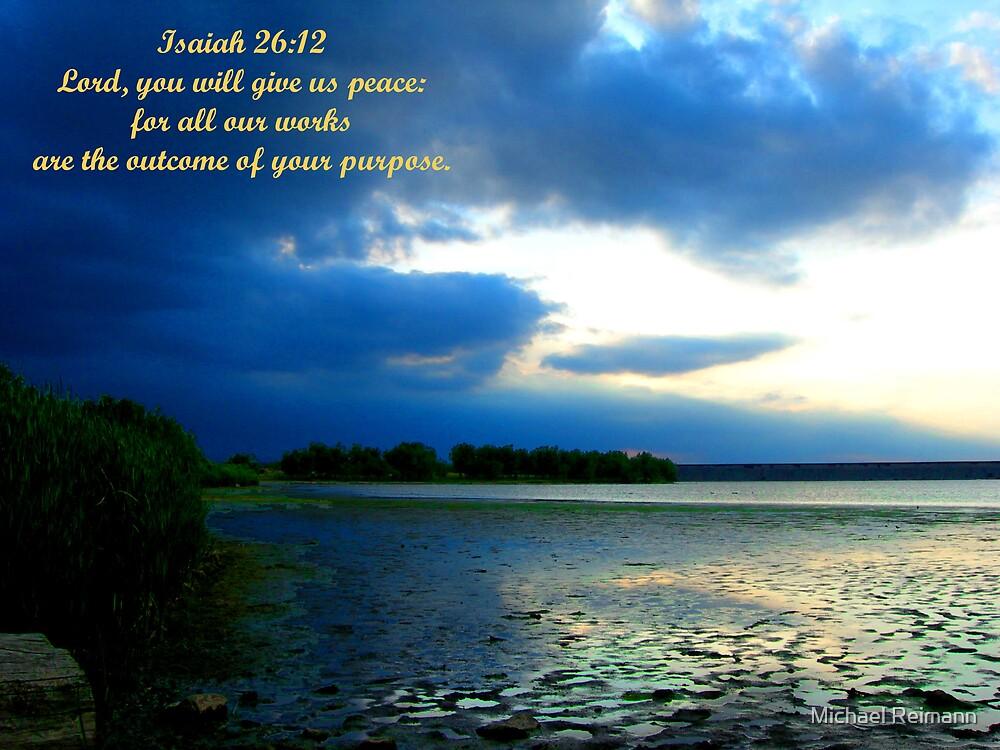 Isaiah 26:12 by Michael Reimann
