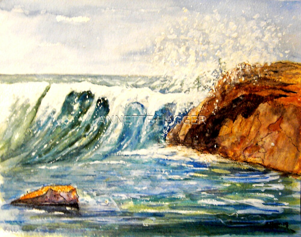 Passion of the Sea  by ANNETTE HAGGER