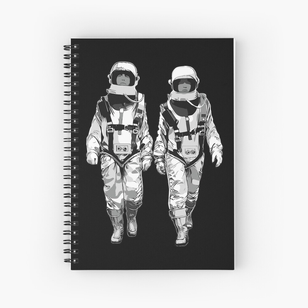 The Hero Walk Spiral Notebook