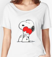 Snoopy! Women's Relaxed Fit T-Shirt