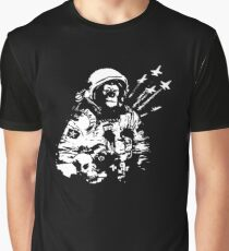 Space Chimp Graphic T-Shirt