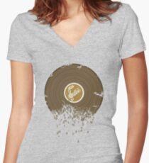 Get Digital Women's Fitted V-Neck T-Shirt