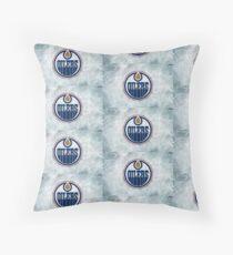 Oilers  Floor Pillow