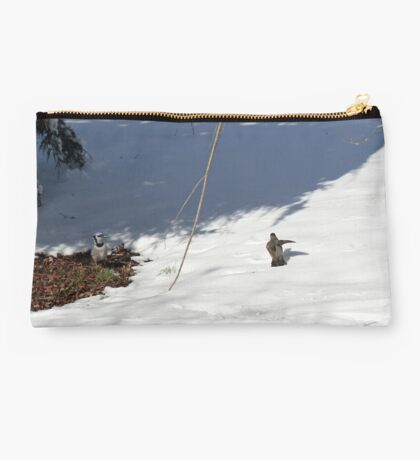 I said get out! Now go! Studio Pouch