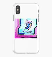 Life's a Glitch - Pink iPhone Case/Skin