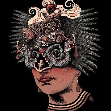 Chacmool - Meso-American, Olmec, Mayan, Toltec, Aztec by qetza