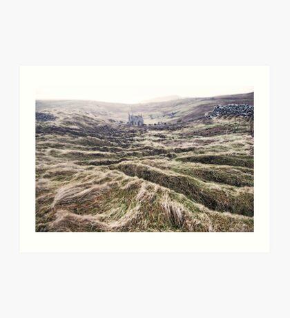 middle earth on 60N Art Print