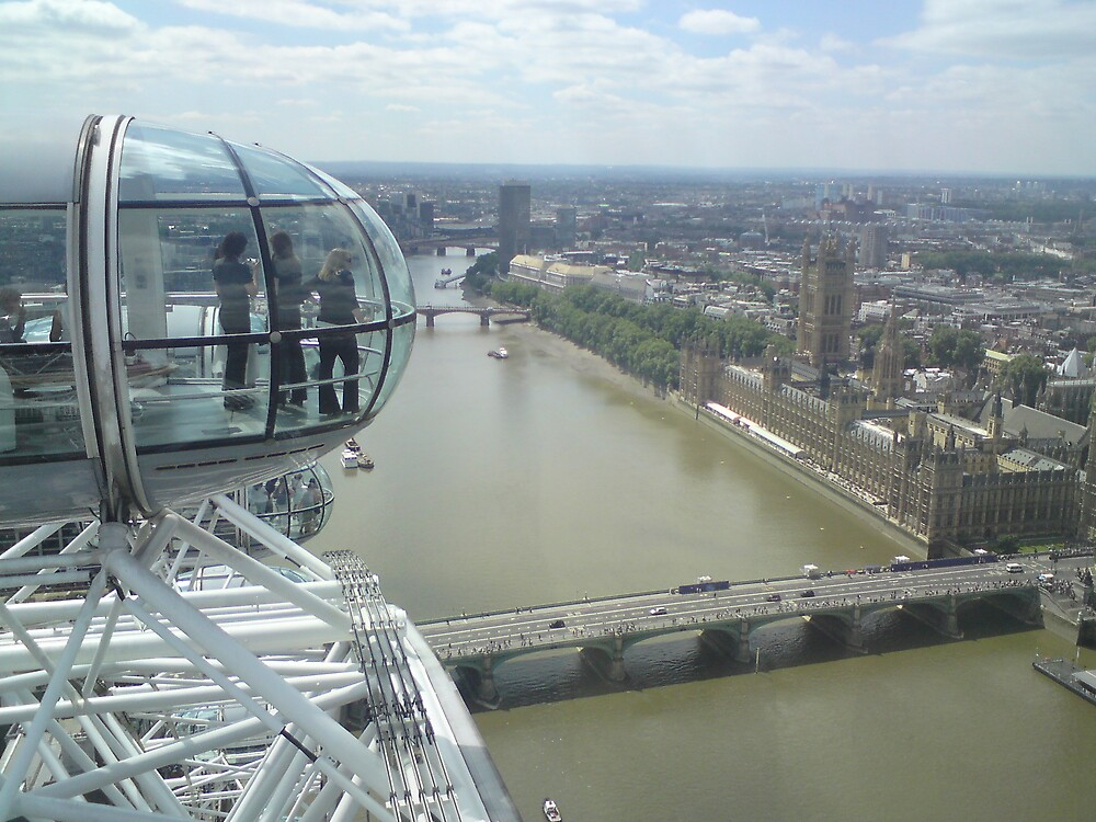 View From The London Eye by LShort