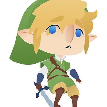 Chibi Link by tobiejade