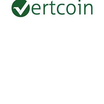 Vertcoin T-Shirt - Crypto Shirt - Vertcoin Shirt by NativOrganics