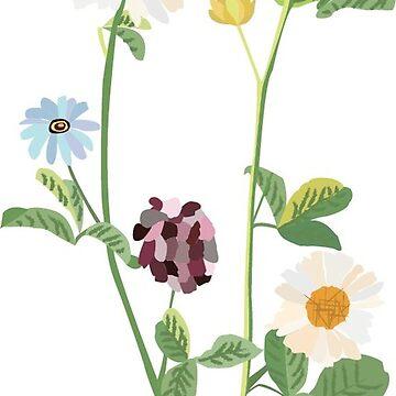wildflowers by izzysumardi