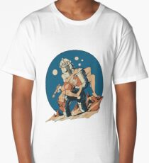 Damsel in Space Long T-Shirt