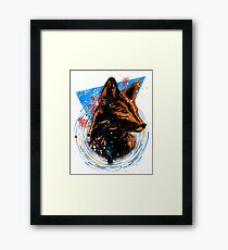 magical fox Framed Print