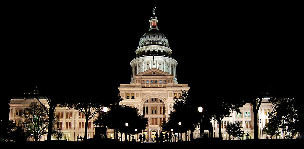 Texas State Capital building by lane777smith