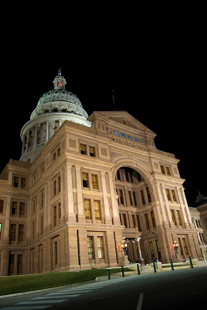 Texas State Capital by lane777smith