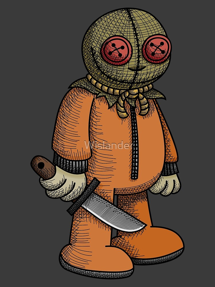 Creepy Child with Knife by Wislander