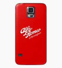 Classic Alfa of Bham White Case/Skin for Samsung Galaxy