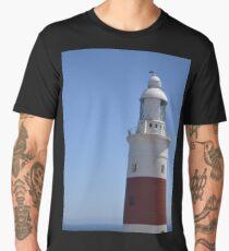 Light house against blue sky  Men's Premium T-Shirt