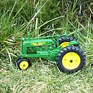 my toy John Deer by boondockMabel