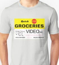 Quick Stop Groceries and RST Video Inc. Unisex T-Shirt