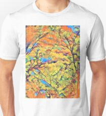 Colorful Forest Abstract Unisex T-Shirt