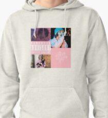 Lil Xan Pink Roses Pullover Hoodie