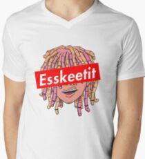Lil Pump Esketit Men's V-Neck T-Shirt