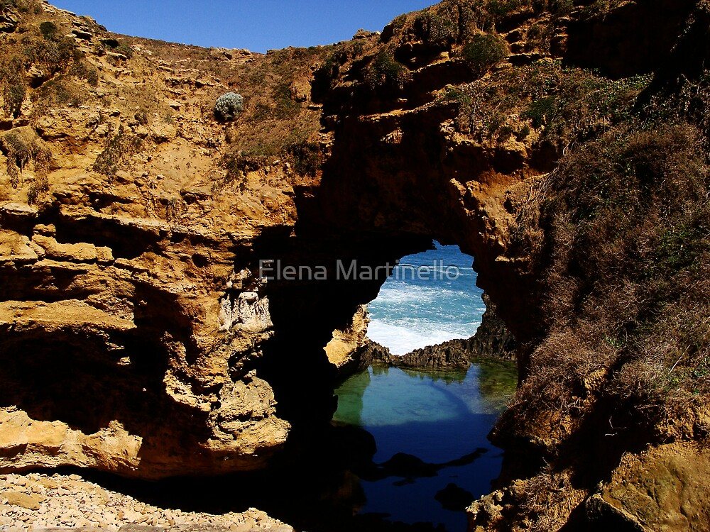 On the Great Ocean Road by Elena Martinello