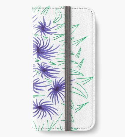 Flowers & Leaves iPhone Wallet