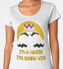 I'm-a-Wario! Women's Premium T-Shirt