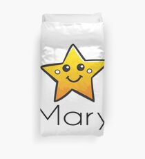 Name Mary / Inspired by The Color of Money Duvet Cover