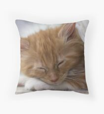 Valletta asleep Throw Pillow