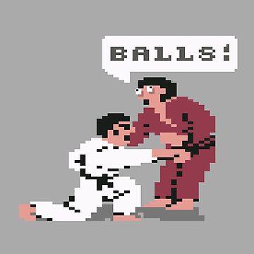 Geekdom [C64] - IK+ 'Balls!' by ccorkin