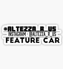 Featured car Sticker