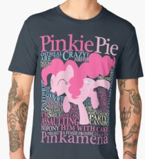 The Many Words of Pinkie Pie Men's Premium T-Shirt