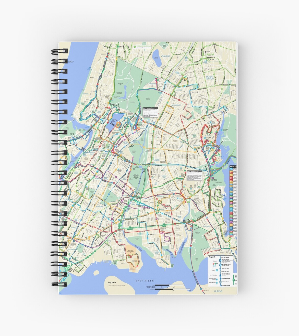 'The Bronx Bus Map - New York City - United States' Spiral Notebook on yonkers city maps, north yonkers n y map, bakersfield ca bus map, nyc bus map, new york street map, jacksonville fl bus map, yonkers bus routes, burke ave subway map, yonkers new york zip code map, vancouver wa bus map, madison wi bus map, bronx city map, belmont ny map, pelham parkway bronx street map, westchester county ny zip code map, yonkers street map, baker avenue bronx ny street map, rochester ny map, washington dc bus map, austin tx bus map,