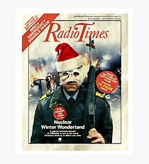 Threads - Christmas Double Issue TV Guide Photographic Print