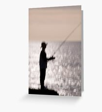 angler Greeting Card