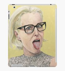 Gillian Anderson Tongue Out Original Painting iPad Case/Skin