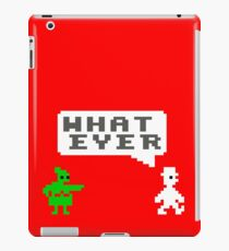 Gaming [C64] (Funnies) - Jet Set Willy 'What Ever' iPad Case/Skin