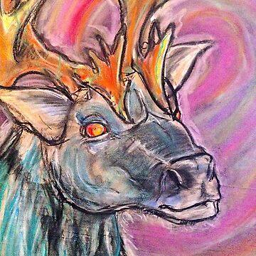 The Spirit Caribou by FlannelDave