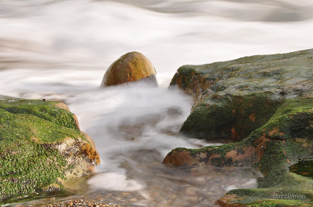 Running rock by puzzleman